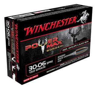 WiINCHESTER POWER MAX BONDED 30-06SPRG 150GR PHP 20PKT