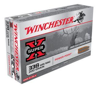 WINCHESTER SUPER X 338WIN 200GR PP 20PKT