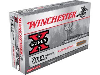 WINCHESTER SUPER X 7MM MAUSER 145GR PP  20PKT