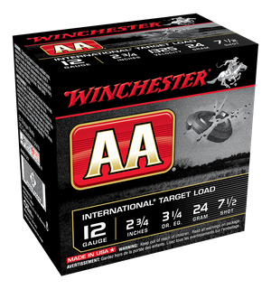 WINCHESTER AA INTERNATIONAL 1325FPS 12GA 24GR 250PKT