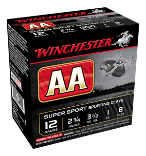 WINCHESTER AA SUPER SPORTING 1350FPS 12GA 28GR 250PKT