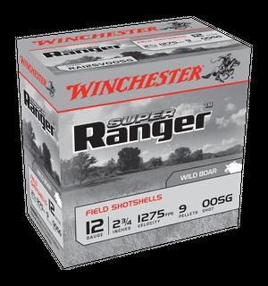 WINCHESTER SUPER RANGER 1275FPS 12G OOSG 9 PELLET  25PKT