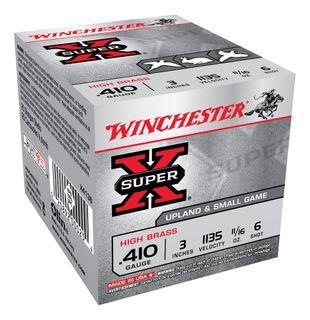 WINCHESTER SUPER X 1135FPS 3INCH 410GA 19GR 6  25PKT