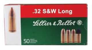 SELLIER & BELLOT 32 S&W LONG 100GR LRN 50PKT