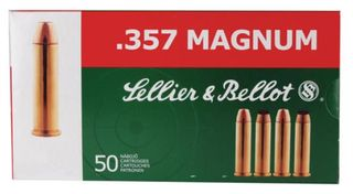 SELLIER & BELLOT 357MAG 158G SP 50PKT