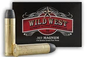 SELLIER & BELLOT 357MAG 158GR LFN-WESTERN ACT  50PKT