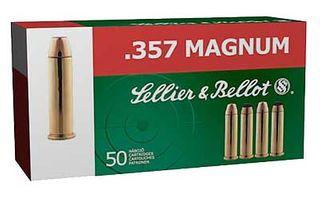 SELLIER & BELLOT 357 MAG 158GR JHP 50PK