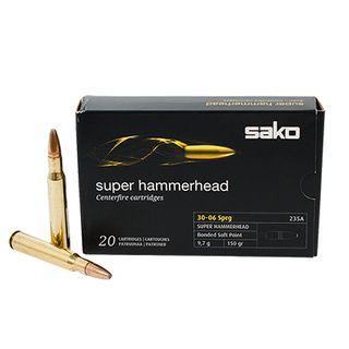 SAKO AMMO 30-06SPRG 150GR SUPER HAMMERHEAD 20PK
