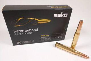 SAKO AMMO 30-06SPRG 180GR HAMMERHEAD 20PKT