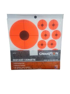 CHAMPION TARGET INSTANT ADHO/B 20PACK