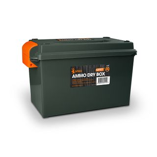 SPIKA AMMO DRY BOX WITH PADLOCKS