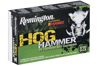 REMINGTON 30-30 150G BARNES TSX HOG HAMMER (20)