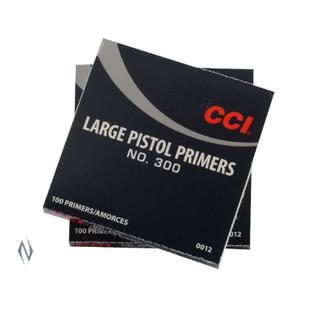 CCI PRIMER 300 LARGE PISTOL (100)