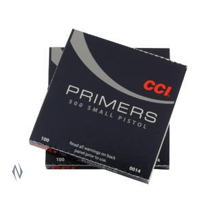 CCI PRIMER 500 SMALL PISTOL (1000)