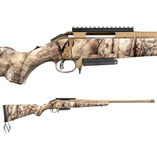 RUGER AMERICAN GO WILD CAMO 308 AI STYLE 3SHOT