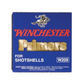 WINCHESTER 209 SHOTGUN PRIMERS 100PKT