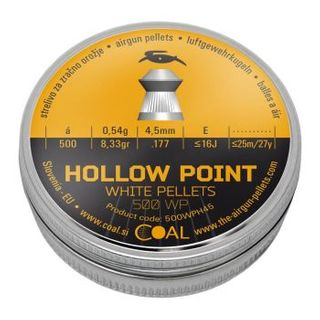 COAL HOLLOW POINT 177 PELLETS 500PK