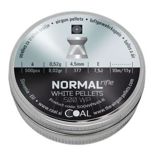 COAL NORMAL RIFLE MATCH 177 PELLETS 500PK