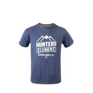 HUNTERS ELEMENT VISTA TEE BLUE