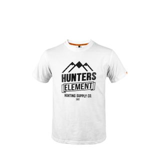 HUNTERS ELEMENT VISTA TEE WHITE
