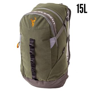 HUNTERS ELEMENT VERTICAL PACK 15L FOREST GREEN