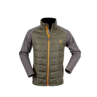 HUNTERS ELEMENT SWITCHBACK JACKET FOREST GREEN GREY
