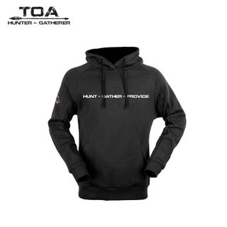 HUNTERS ELEMENT MANAWA HOODIE BLACK