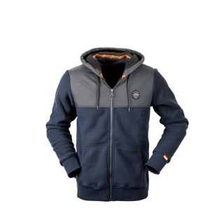 HUNTERS ELEMENT RETRO HOODIE NAVY