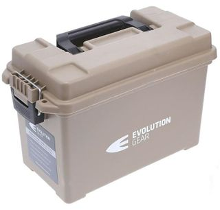 EVOLUTION GEAR AMMUNITION CASE MEDIUM 350x170x225 DESERT TAN