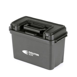 EVOLUTION GEAR AMMUNITION CASE LARGE 390x200x260 BLACK