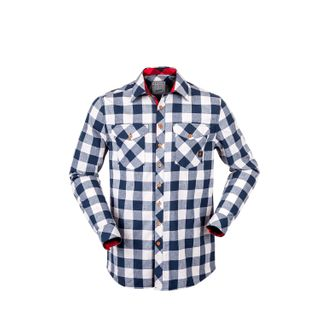 HUNTERS ELEMENT HUXLEY SHIRT NAVY PLAID