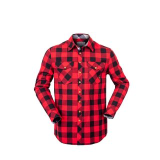 HUNTERS ELEMENT HUXLEY SHIRT RED PLAID