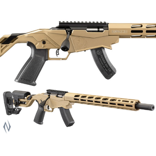 RUGER FDE PRECISION RIMFIRE RIFLE 22LR 18IN 10 SHOT