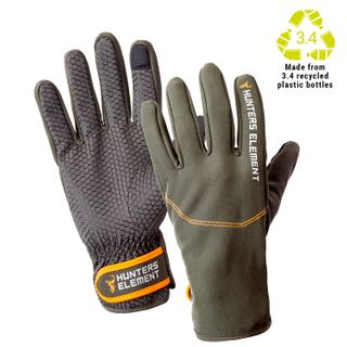 HUNTERS ELEMENT LEGACY GLOVES DESOLVE GREY/GREEN