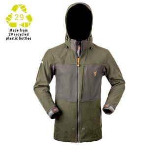 HUNTERS ELEMENT LEGACY JACKET FOREST GREEN / GREY