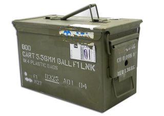X-MILITARY AMMO BOX 50CAL