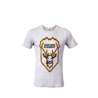 HUNTERS ELEMENT STAG TEE GREY