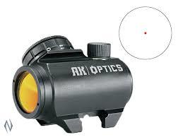 BUSHNELL AK OPTICS RED DOT 1X25 3 MOA XXXX