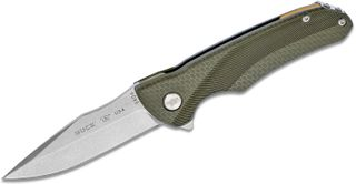 BUCK SPRINT FOLD GREEN HANDLE 7.9CM