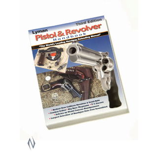 LYMAN PISTOL & REVOLVER HANDBOOK 3RD EDITION