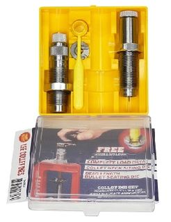 LEE COLLET 2 DIE SET 22-250 REM