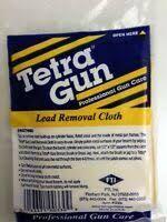 TETRA GUN LEAD REMOVAL CLOTH