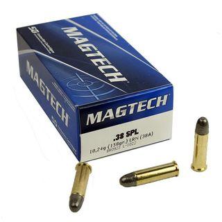 MAGTECH 38 SPL 158GR LRN 50PKT