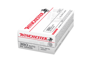WINCHESTER USA VALUE PACK 380 AUTO 95GR FMJFN 50PKT