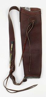 MARTIN LITTLE JOHN QUIVER LEATHER BROWN
