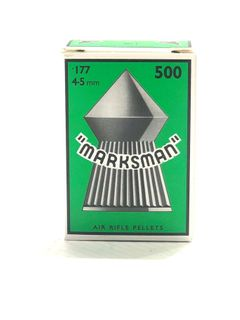 MARKSMAN 177 POINTED AIR RIFLE PELLETS (500)