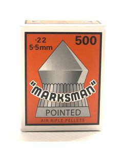 MARKSMAN 22CAL POINTED HEAD AIR PELLETS (500)
