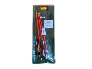 22CAL CLEANING KIT 3PCE WITH PLASTIC ROD IN PLASTIC SLEEVE
