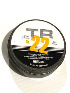 MILBRO TWIN RING 22 AIR RIFLE PELLETS