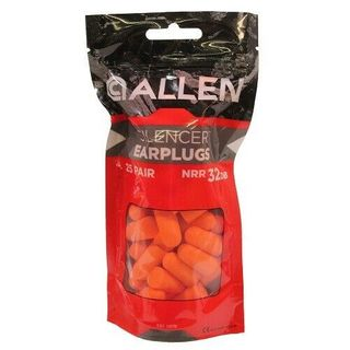 ALLEN SILENCER EAR PLUGS (25 PAIR )